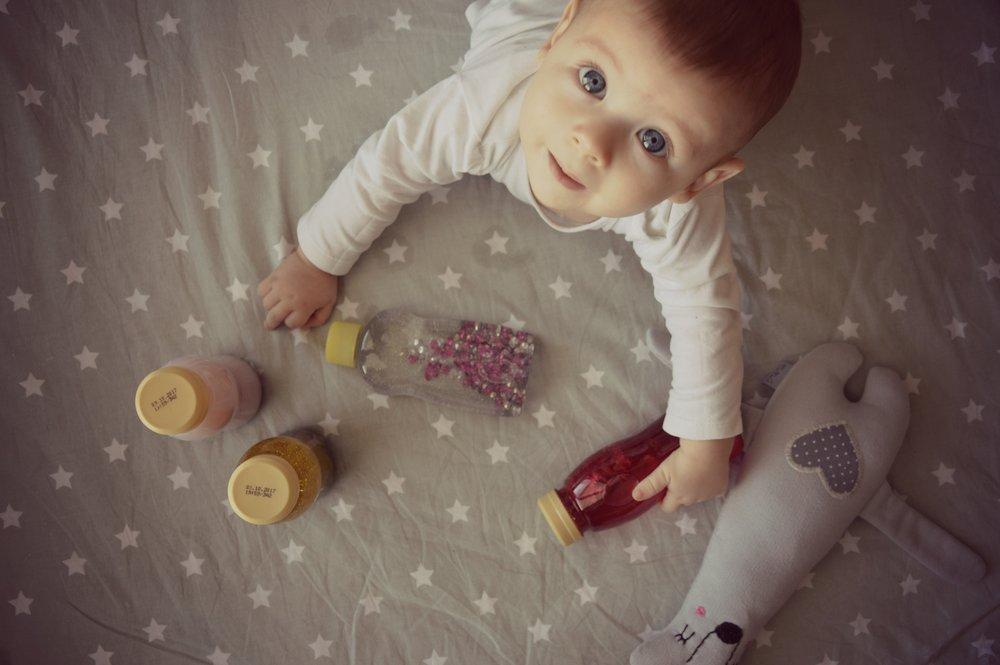 Senzorične steklenice (za dojenčke, malčke in otroke!)