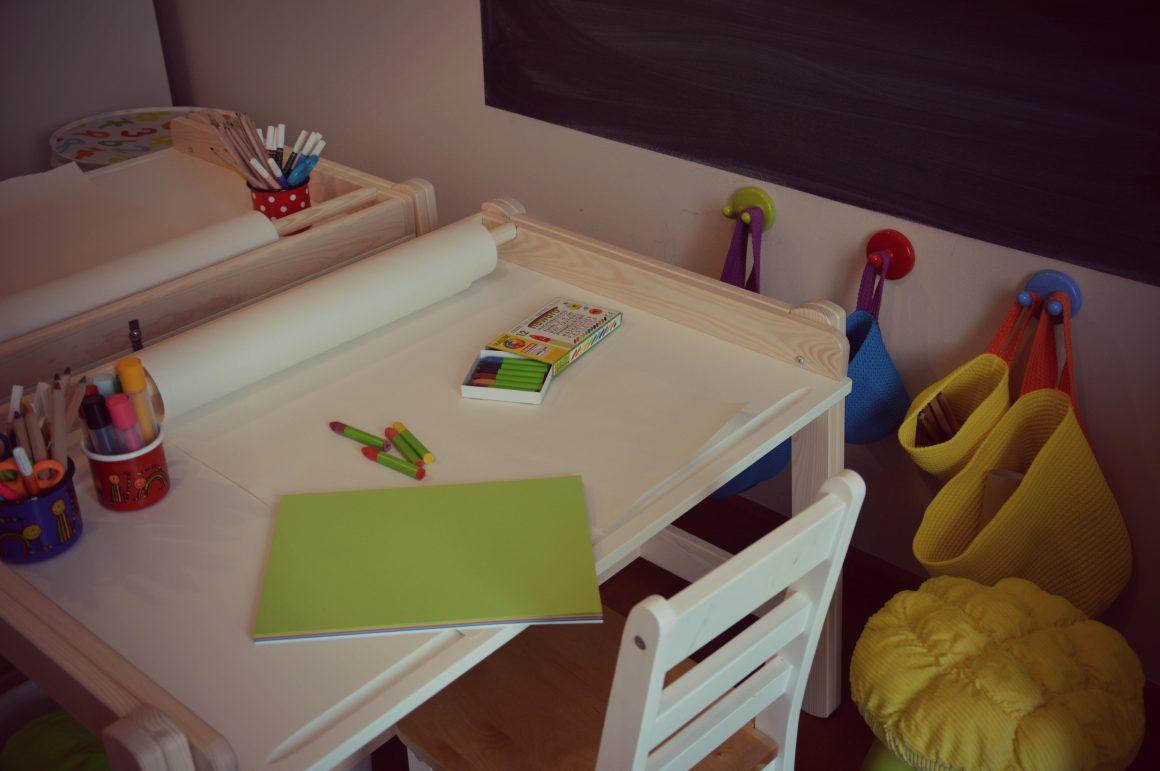 Spremembe v otroški sobici in Ikea