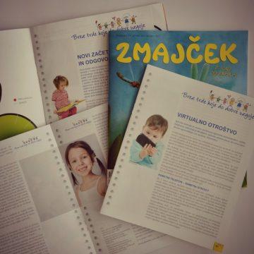 Staršem v razmislek (Otroška revija Zmajček)