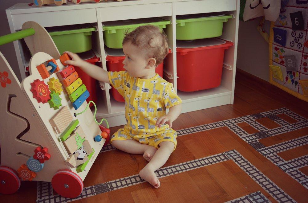 Dojenčkov dnevnik: 12. mesec