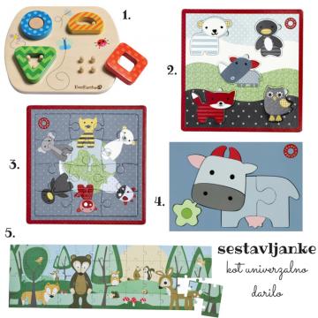 Ideja za otroška darila, sestavljanke vseh vrst