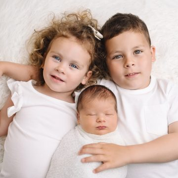 Fotografiranje novorojenčka in naše prve skupne fotografije