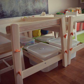 Organizacija manjših igrač in drobnih delcev