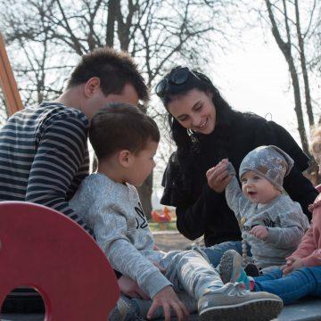 Izzivi življenja s tremi otroki