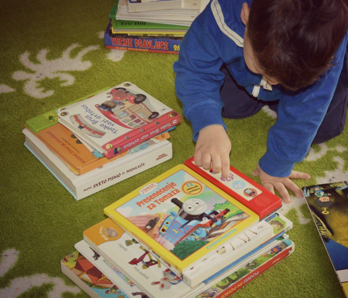Kako spodbuditi otroka k branju?