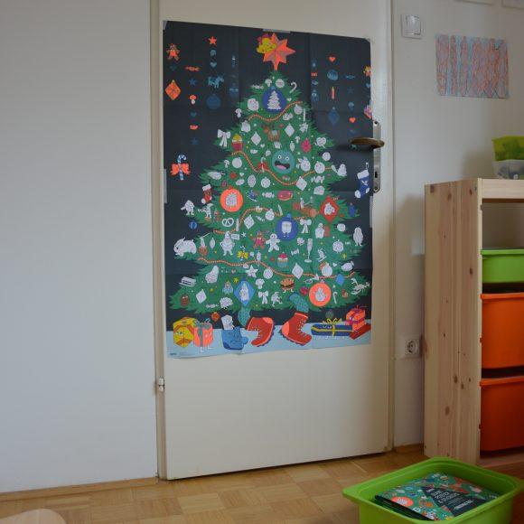 Samo njihova božična smrekica (in otroška soba)