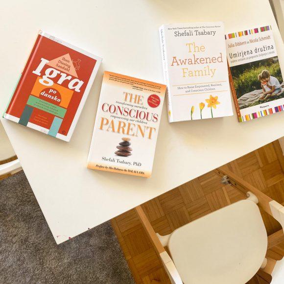 Moje najljubše knjige o starševstvu in vzgoji #3
